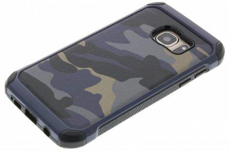 Samsung Galaxy S7 hoesje - Army Defender Backcover voor