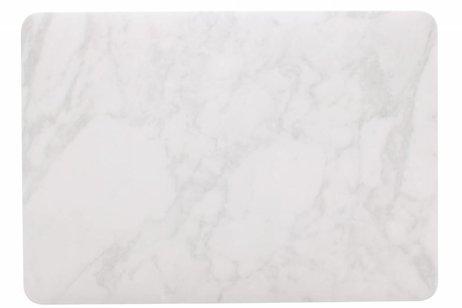 Design Hardshell Cover voor MacBook Pro 13.3 inch - Wit Marmer
