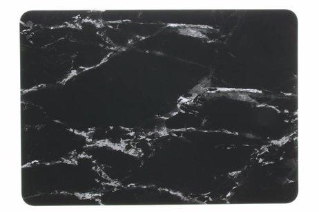 Design Hardshell Cover voor MacBook Pro Retina 15.4 inch 2013-2017 - Marmer Zwart