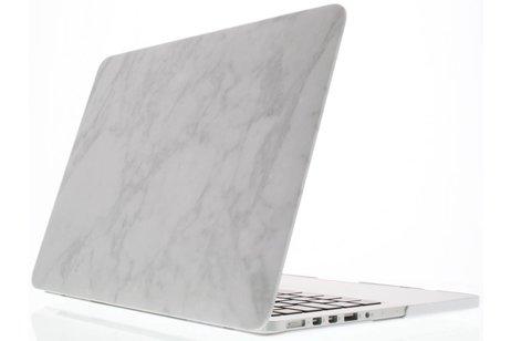 Design Hardshell Cover voor MacBook Pro Retina 13.3 inch 2013-2015 - Wit Marmer