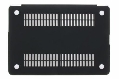 Design Hardshell Cover voor MacBook Air 11.6 inch - Marmer Zwart