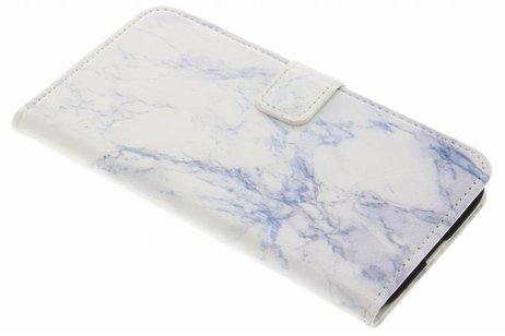 Marmer Design Booktype voor LG G5 (SE) - Wit