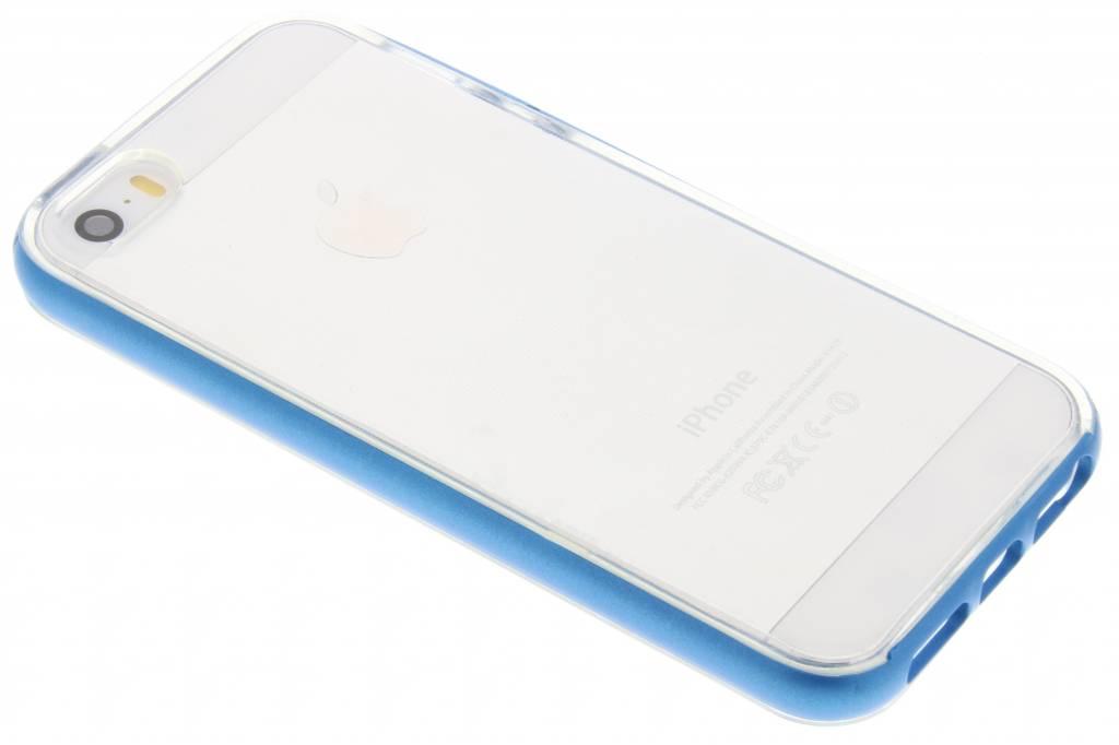 Bumper Backcover voor iPhone SE / 5 / 5s - Blauw