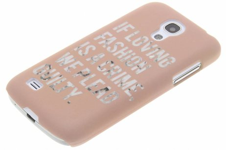 Design Hardcase Backcover voor Samsung Galaxy S4 Mini