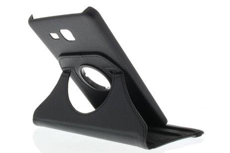 360° Draaibare Bookcase voor Samsung Galaxy Tab A 7.0 (2016) - Zwart