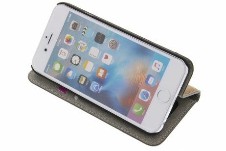 iPhone 6 / 6s hoesje - Denim Booktype voor iPhone