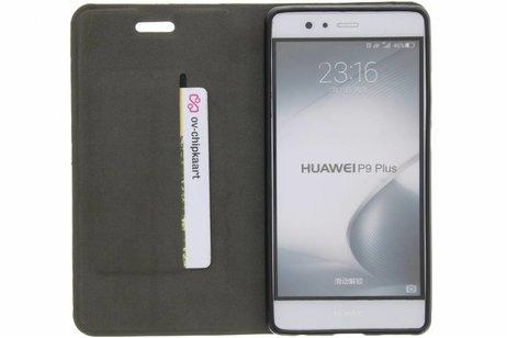 Denim Booktype voor Huawei P9 Plus - Donkergrijs
