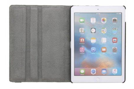 360° Draaibare Design Bookcase voor iPad Pro 9.7 - Bloem