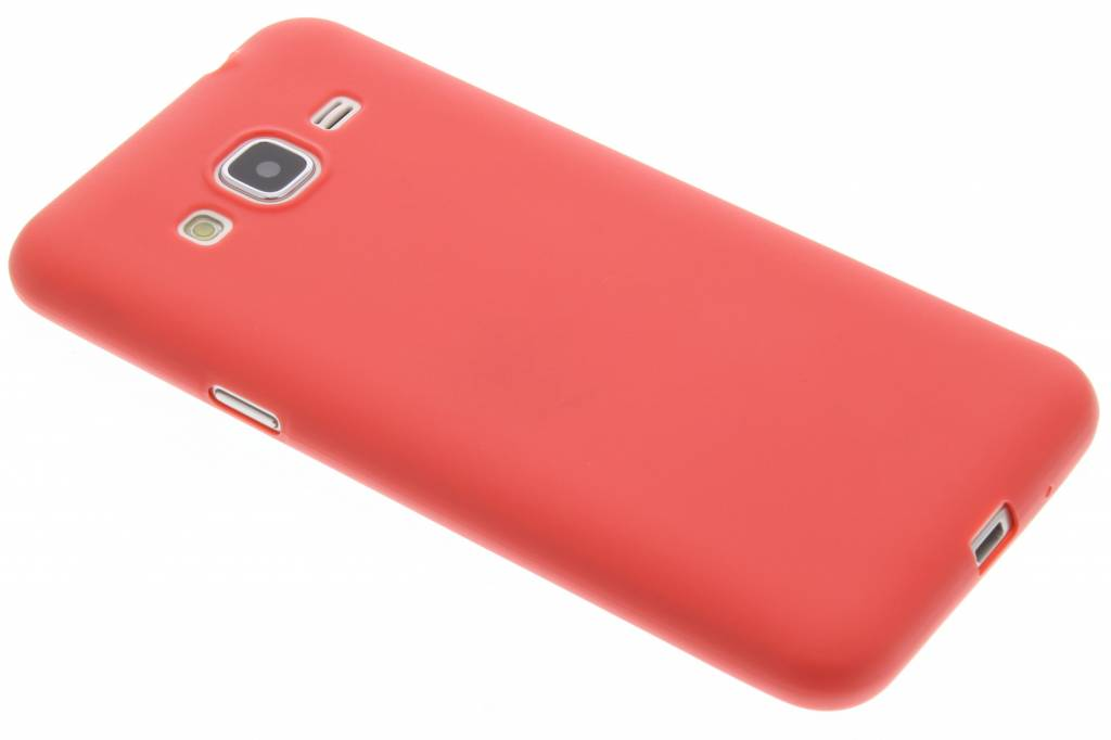 Color Backcover voor Samsung Galaxy J3 / J3 (2016) - Rood