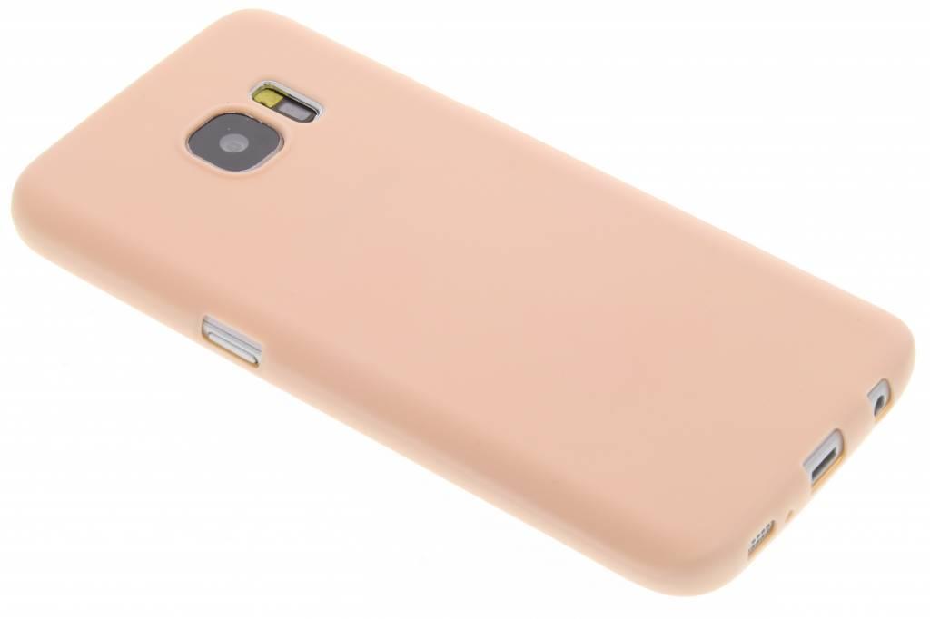 Color Backcover voor Samsung Galaxy S7 - Lichtroze