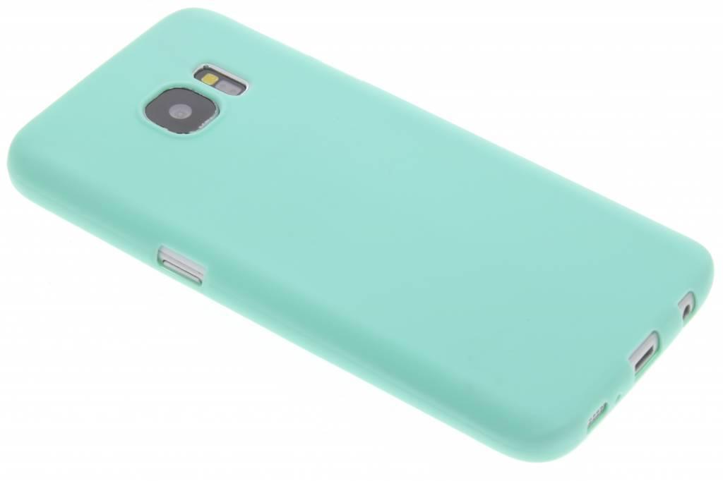 Color Backcover voor Samsung Galaxy S7 - Mintgroen