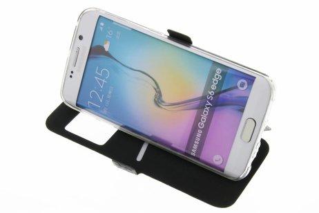 Samsung Galaxy S6 Edge hoesje - Rhombus Booktype voor Samsung