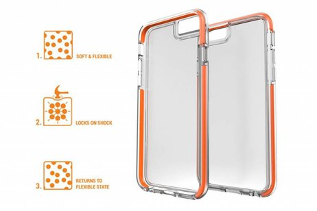 Gear4 Piccadilly Backcover voor iPhone SE / 5 / 5s - Grijs