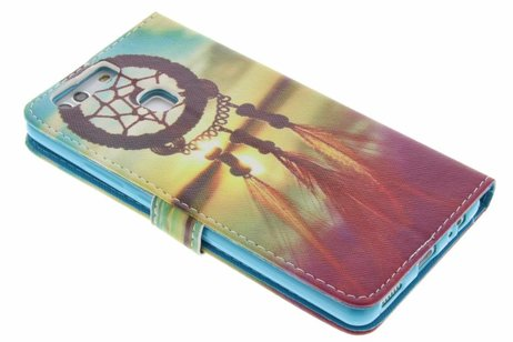 Design Softcase Booktype voor Huawei P9 Plus