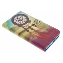 Design Softcase Booktype Huawei P9 Plus