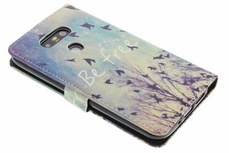 Design Softcase Booktype voor LG G5 (SE)