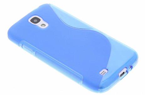 S-line Backcover voor Samsung Galaxy S4 - Blauw