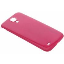 Fuchsia bubblepack batterij cover Samsung Galaxy S4