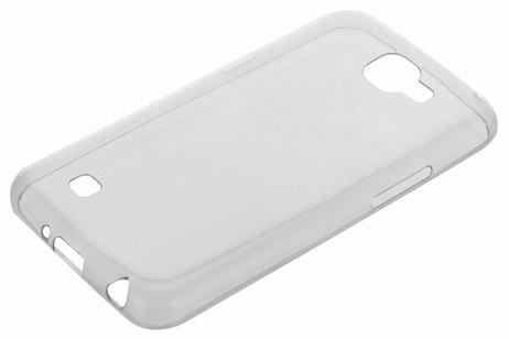 Ultra Thin Transparant Backcover voor LG K4 - Transparant