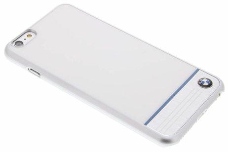BMW Hard Case Aluminium Plate voor de iPhone 6(s) Plus - Wit