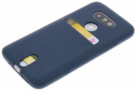 LG hoesje - Card Backcover voor LG