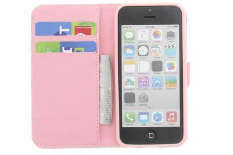 Design Softcase Booktype voor iPhone 5c