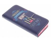 Design Softcase Booktype iPhone 5c