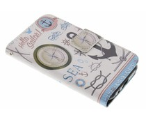 Design Softcase Booktype Samsung Galaxy J1