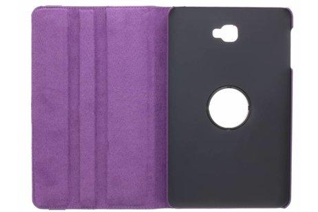 360° Draaibare Bookcase voor Samsung Galaxy Tab A 10.1 (2016) - Paars