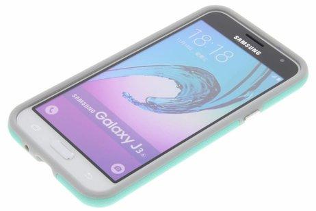 Accezz Xtreme Hardcase Backcover voor Samsung Galaxy J3 / J3 (2016) - Mintgroen