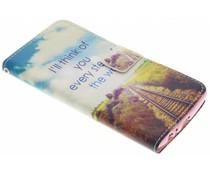 Design Softcase Booktype LG G4