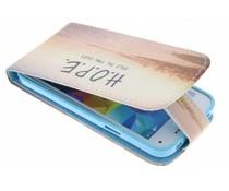 Design Flipcase Samsung Galaxy S5 Mini