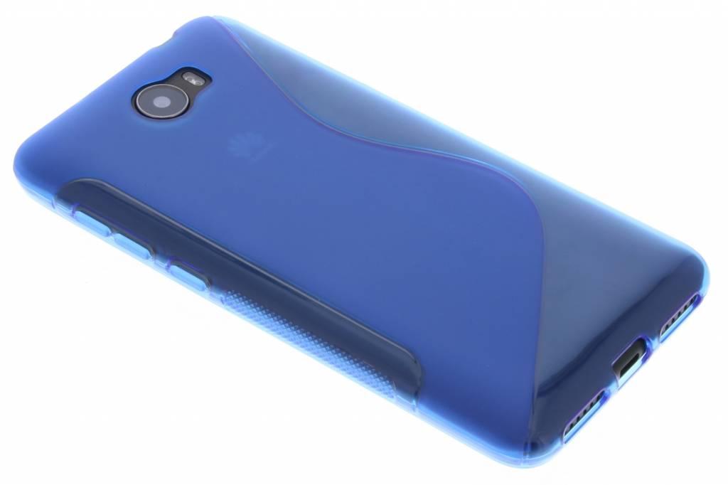 S-line Backcover voor Huawei Y5 2 / Y6 2 Compact - Blauw