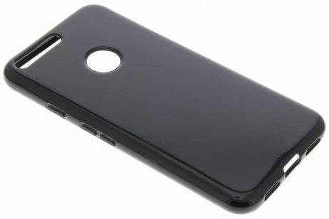 Softcase Backcover voor Google Pixel XL - Zwart