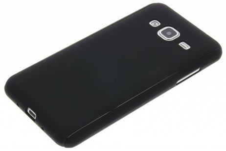 360° Effen Protect Backcover voor Samsung Galaxy J3 / J3 (2016) - Zwart