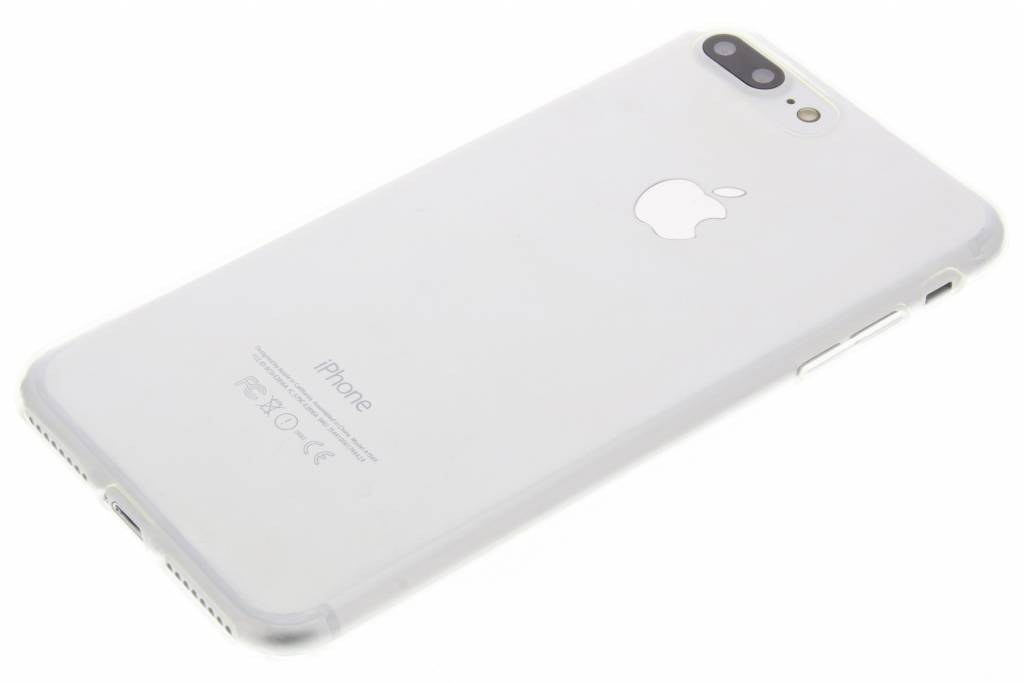 fc2e88a5c65 Ultra Thin Transparant Backcover voor iPhone 8 Plus / 7 Plus - Transparant