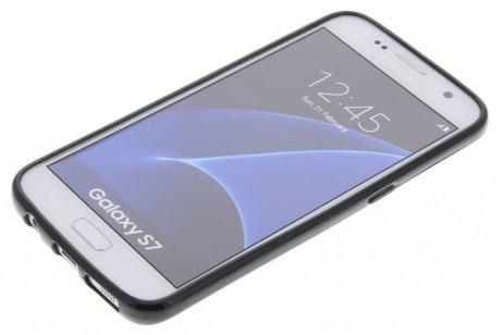 Softcase Backcover voor Samsung Galaxy S7 - Zwart