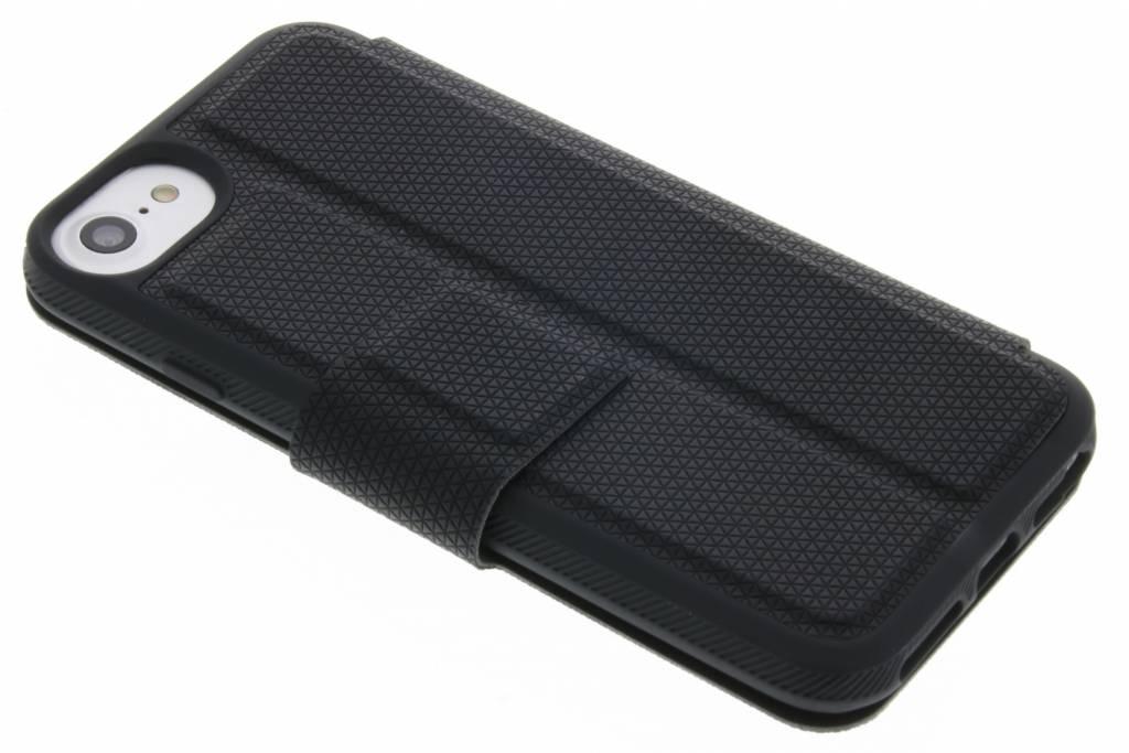 Zwart Material Pure Folio Case iPhone 8 / 7 / 6 / 6s