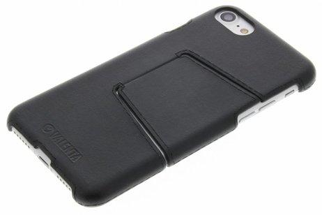 Valenta Classic Style Backcover voor iPhone 8 / 7 - Zwart