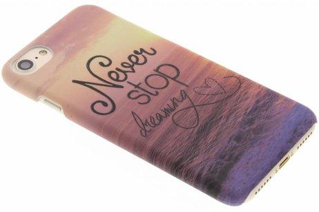 Design Hardcase Backcover voor iPhone 8 / 7