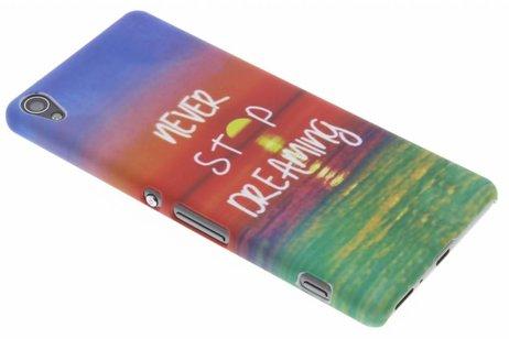 Design Hardcase Backcover voor Sony Xperia XA