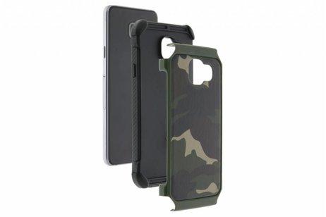 Army Defender Backcover voor iPhone 8 Plus / 7 Plus - Groen