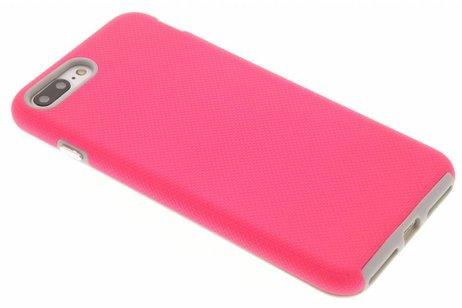 Accezz Xtreme Hardcase Backcover voor iPhone 8 Plus / 7 Plus - Fuchsia