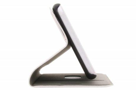 Design Hardcase Booktype voor iPhone 8 / 7 - Flamingo