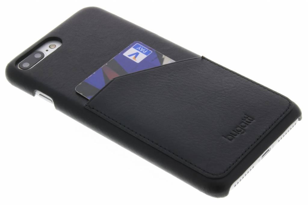 Bugatti Londra Backcover voor iPhone 8 Plus / 7 Plus - Zwart