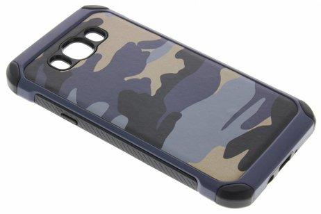 Samsung Galaxy J7 (2016) hoesje - Army Defender Backcover voor
