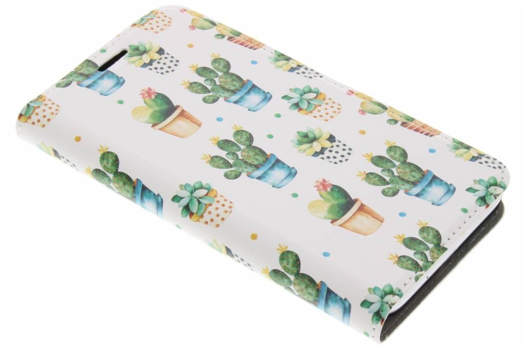 Design Hardcase Booktype voor Samsung Galaxy J3 / J3 (2016) - Cactus