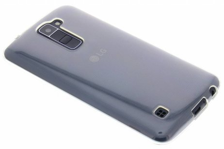 LG K10 hoesje - Softcase Backcover voor LG