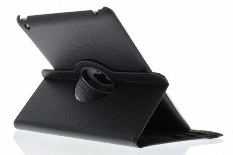 360° Draaibare Bookcase voor iPad 2 / 3 / 4 - Zwart