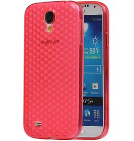 Diamand TPU Cases for Galaxy S4 i9500 Pink